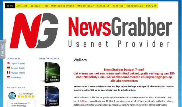 Newsgrabber Review